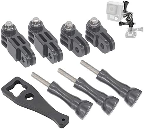 FOCUS REVISION 3 Way Pivot Extension Arm Straight Joints Mount w 3 Thumbscrew 1 Wrench for GoPro product image