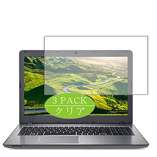 Vaxson 3-Pack Screen Protector Compatible with AcerAspire F Series F5-573-H78G / S 15.6', HD Film Protector [NOT Tempered Glass] Flexible Protective Film