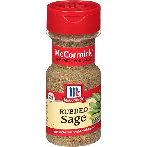 McCormick Rubbed Sage, 0.5 oz Bottle