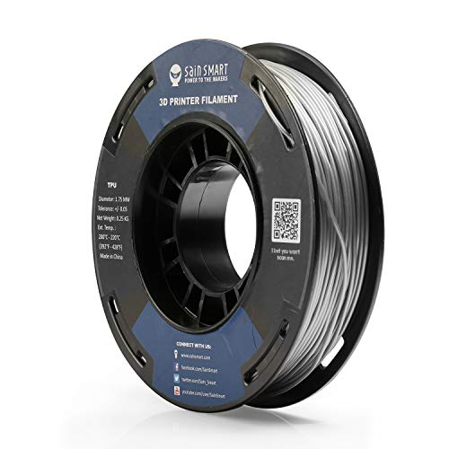 SainSmart Liquid Luster Flexible TPU 3D Printing Filament, 1.75 mm, 250g, Dimensional Accuracy +/- 0.05 mm