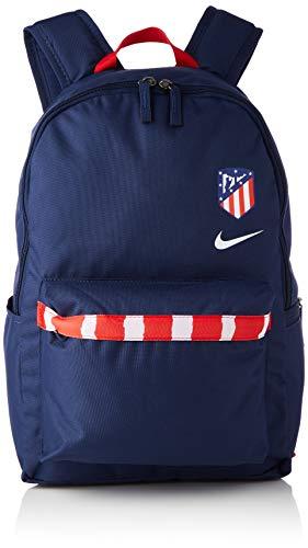 NIKE ATM Nk Stadium Bkpk-Fa20 Sports Backpack, Unisex Adulto, Midnight Navy/Sport Red/(White), MISC