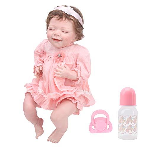 hong Reborn Doll, strapazierfähige, Flexible, lebensechte Puppe, Vinylpuppe für Geschenke