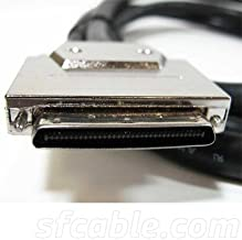 0.8 MM / Centronics 50 (CN50) Male, VHDCI 68 SCSI Cable, 6 ft