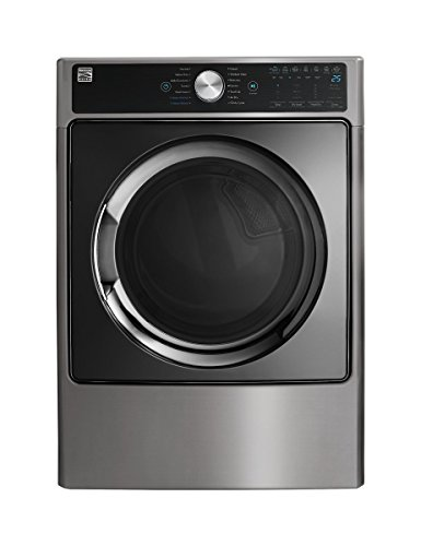 Kenmore Smart 9.0 cu. ft. Electric Dryer with Accela Steam Technology in Metallic Silver - Compatible with Alexa, includes delivery and hookup -02681983