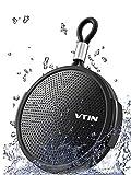 Vtin Q1 Altavoz Bluetooth, Altavoz Impermeable de 8W, Altavoz portátil con Bluetooth 10H Tiempo de reproducción, Micrófono Incorporado, Soporte de Tarjeta SD, Adecuado para Ducha, Playa, Exterior
