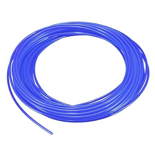 N/A Recharges de Filament pour Stylo d'imprimante 3D, Longueur 32,8 Pieds, diamètre 1,75 mm, PLA, précision dimensionnelle / - 0,02 mm, pour Peinture et Dessin 3D, Bleu Transparent