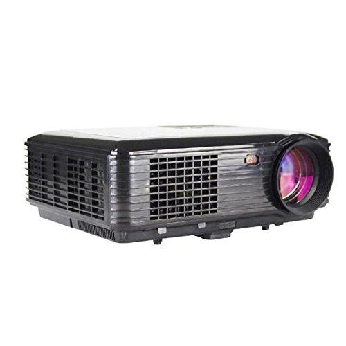 Cebbay 3500 lúmenes LED Proyector de Cine en casa USB TV 3D HD 1080P Business VGA/HDMI