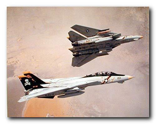 F-14 Kunstdruck / Poster, Motiv: Tomcat Flugzeug / Luftfahrt / Jet / Flugzeug, 40,6 x 50,8 cm