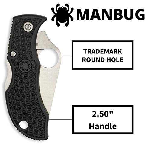 Spyderco Manbug Lightweight...