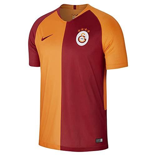 Nike Herren Galatasaray Breathe Stadium Jersey Short-Sleeve Home Trikot, Vivid orange/Pepper red/Pepper red, XL