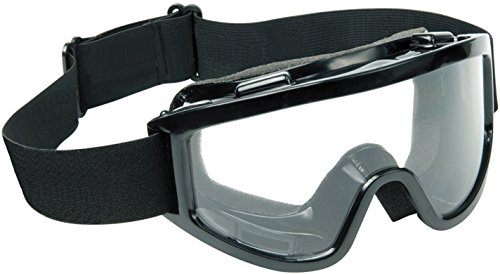 Raider 26 Black Frame/Clear Lens Adult MX Off-Road Snowmobile, Snowboard, Ski Goggles, Model:26-MX