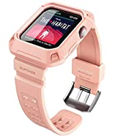 All watch features, buttons and sensitivity are accessible and easily operated with the case installed UB Pro bumper creates rugged shock absorption and a raised bezel to protect screen from damage Case includes scratch-resistant and fully adjustable...