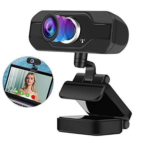 Camera Computer, 1080P High Definition Online Teaching Conference Web Camera Webcam with Built-in Microphone for Conference Live Broadcast & Video