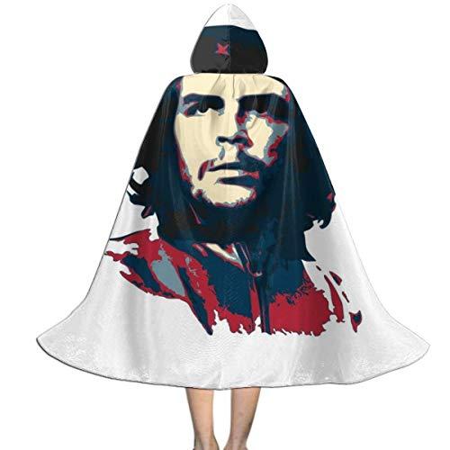 NUJSHF Che Guevara Capa con Capucha Unisex para Halloween, Navidad, decoración de Papel o Disfraces de Cosplay