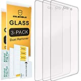 [3-PACK]-Mr.Shield Designed For Huawei P8 Lite [Tempered Glass] Screen Protector with Lifetime Replacement