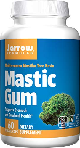 Jarrow Formulas Mastic Gum, Supports The Stomach and Duodenal Health, 60 Capsules
