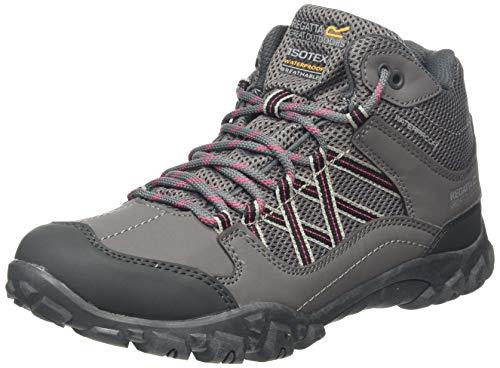 Regatta Damskie buty trekkingowe Edgepoint Mid Low Rise, Szary - Szary Granit Księżna 805-38 EU