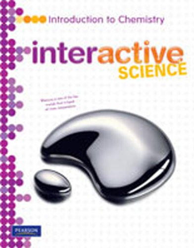 Middle Grade Science 2011 Chemistry Student Edition Interactive Science