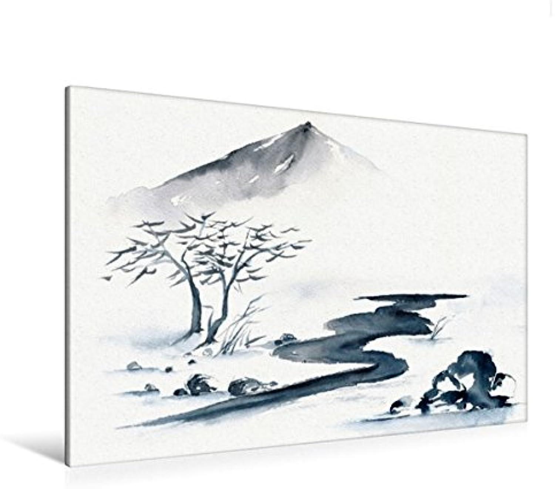 Calvendo Premium Textil-Leinwand 120 cm x 80 cm quer, Weg des Lebens  Wandbild, Bild auf Keilrahmen, Fertigbild auf echter Leinwand, Leinwanddruck Kunst Kunst