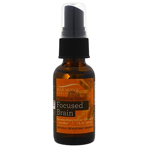 Harmonic Innerprizes Etherium Homeopathic Essence, Gold, 1 Fluid Ounce