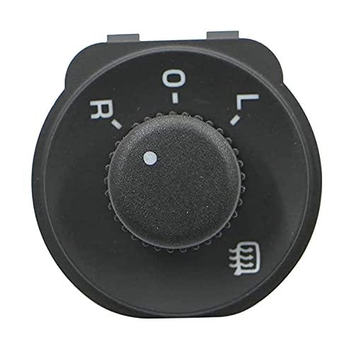 YYAN Control de Interruptor de Espejo Lateral Ajustar la Perilla Adecuada para Skoda Octavia MK2 II 1Z (Color : Black)