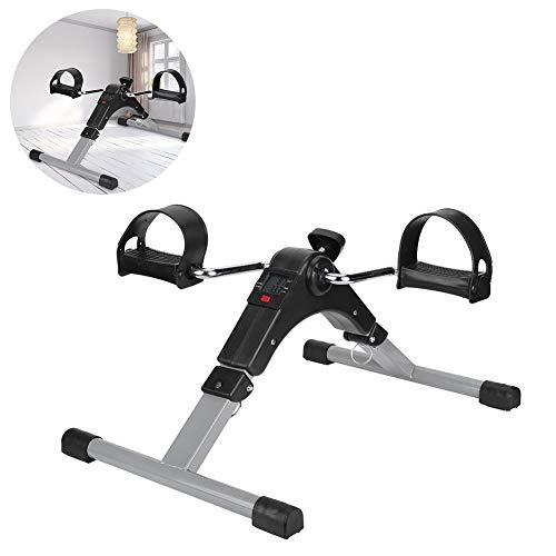 Wosune Fitness Stepper, Mini Cycle Material Compuesto Ajuste la Perilla Pantallas electrónicas para la Oficina para la Familia para el Personal de la Oficina para los Miembros de la Familia