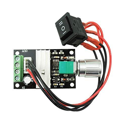 Stebela Controlador de Velocidad de 6V 12V 24V 3A 80W DC Motor PWM de Velocidad Ajustable Interruptor Reversible del Conductor 1203BB DC Motor Inversión