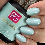 Color de pintauñas permanente Pink Gellac 239 Paradise Blue