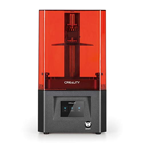 Creality LD-002H LCD Resin 3D Printer with Air Filtration System, 3.5 Inch Full-Color Touch Screen and Larger Printing Size 130 * 82 * 160mm