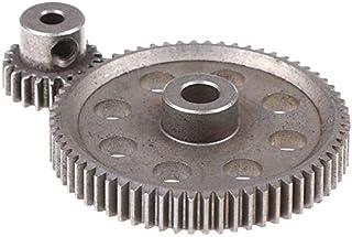 CROSYO 2pcs (21T + 64T) 11184 & 11181 différentiel de Vitesse Principale en métal 64T 21T motoréducteur