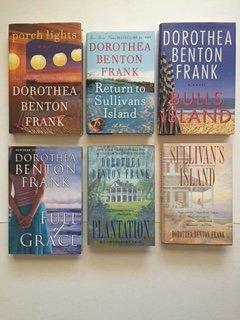 Dorothea B. Frank (Set of 6) Sullivan's Island; Plantation; Full of Grace; Porch Lights