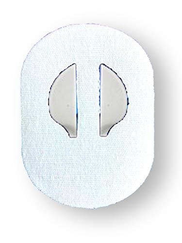 FixTape atmungsaktives Sensor-Tape für Medtronic Enlite I selbstklebendes Patch für Glukose-Sensor mit hohem Trage-Komfort I hautfreundlich und wasserfest in modernen Designs I 7 Stück (Weiss)
