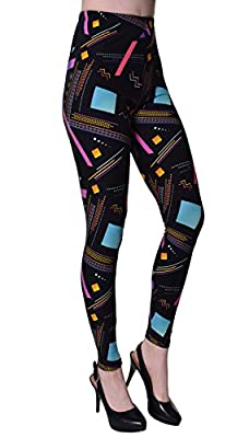 VIV Collection Popular Printed Brushed Buttery Soft Leggings Regular Plus 40+ Designs List 2