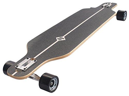 Streetsurfing Street Surfing Longboard Freeride 39, Design, Black, 500226, The Battle