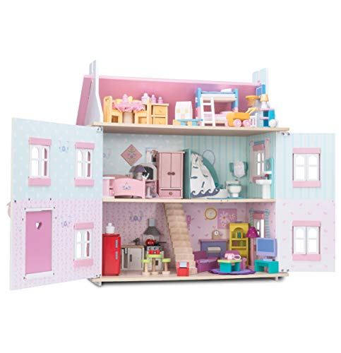Le Toy Van h104s Sophie 's Puppenhaus mit Möbel
