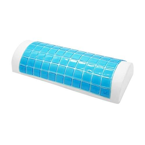 ZZBB Abco Tech Memory Foam Cuscino per Ginocchia con Gel di Raffreddamento Cuscino Letto Double-Sided Cuscino per Viaggio Aereo Ufficio Casa Rilassante Piedi Strumento,A