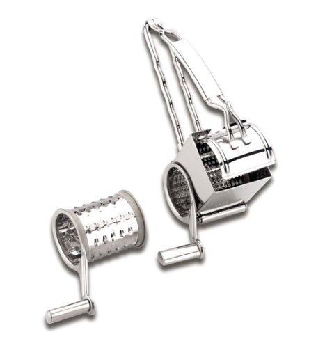 Lacor - 60335 - Rallador Inox 2 Cuchillas