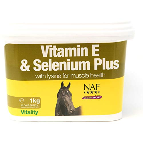 Natural Animal Feeds Unisex's NAF Vitamin E, Selenium and Lysine 3kg, Clear, 3 kg