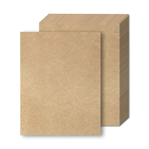 Rustic Kraft Stationery Paper, Letter Size (8.5 x 11 Inches, Brown, 48 Sheets)