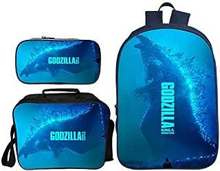 /étudiants gar/çons et Filles Multicolore Godzilla-2 22x11x5cm Godzilla Trousse /à Crayons Grande capacit/é Grand Compartiment pour /écoliers