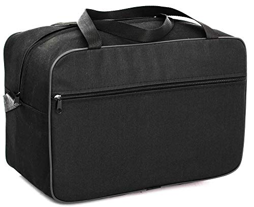 Wizzair Cabin Bag 40x30x20 Free Handbag Suitcase Luggage Tasche Handgepäck (Black)