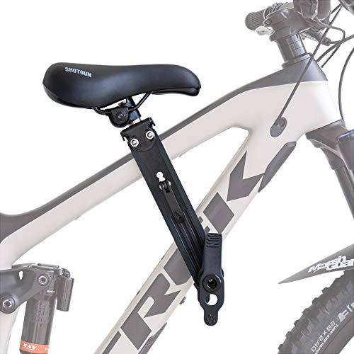 SHOTGUN Kids Bike Seat for Mountain Bikes | Front Mounted Bicycle Seats for...