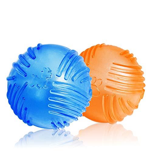 WeinaBingo 犬用 玩具ボール おもちゃ 耐久性 耐噛みトレーニングのおもちゃ インタラクティブおもちゃ 押...