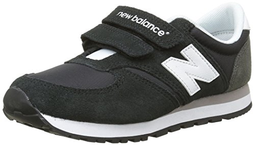 New Balance K_420V1, Unisex-Kinder Low-Top Sneaker, Schwarz (bki Black/grey), 31 EU (31 EU)