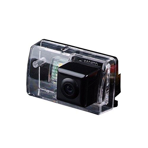 Dynavision Caméra de recul Voiture IP67 étanche Couleur Haute définition Grand Angle de visionnement avec Plaque d'immatriculation Vision Nocturne pour 206/207 /306/307 /308/406/ 407/5008 Partner