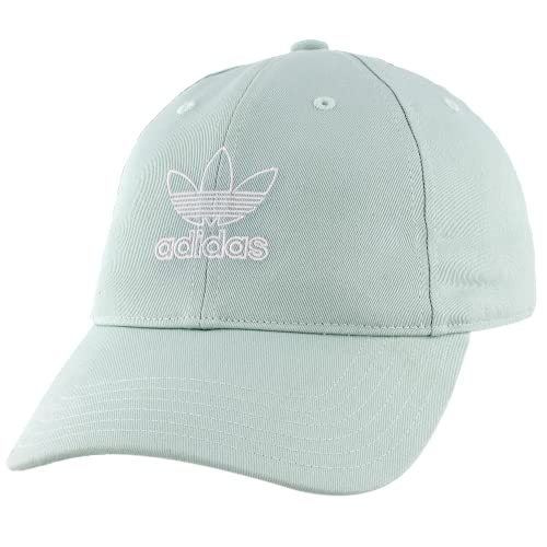 adidas Damen Relaxed Outline Cap Einheitsgröße Aschgrün/Weiß