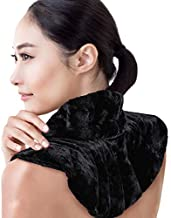Heating Pad for Neck and Shoulders | Microwavable Weighted Heat Therapy Wrap with 100% Natural Aromatherapy Herbs | Microwave Hot/Cold Pack for Pain & Anxiety Relief, Tension Headache Migraines & More