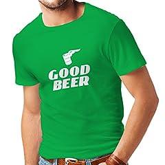 lepni.me Camisetas Hombre Necesito una Buena Cerveza