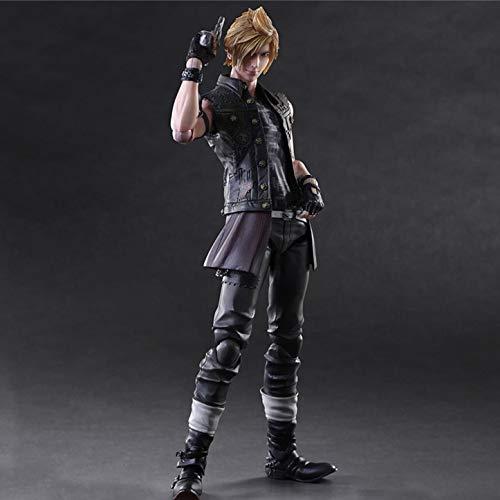 LU-Model Action-Figur PlAYARTS Final Fantasy 15 Prompto Argentum Spielzeug Modell Anime Souvenirs/Collectibles/Handwerk Spielzeug Statue Dekoration 26CM