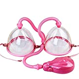 電動乳房マッサージバキュームカップ乳房拡大ポンプ乳首吸盤巨乳ベラマストアップ振動ブラジャー拡大強化